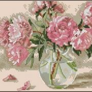 Dimensions 65048 Peonies in vase